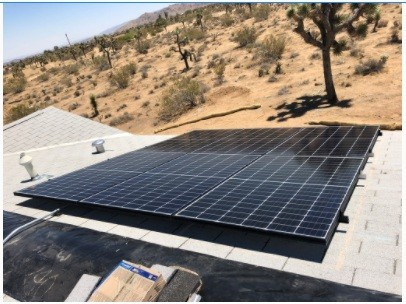 solar-panels to be installed